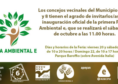 Secundaria – Feria Ambiental