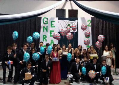 Ceremonia de graduación de 6to año de Secundaria