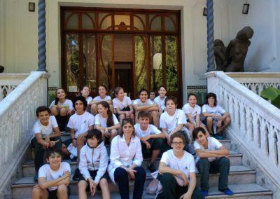 Primaria, sexto año visitó Museo de la Memoria