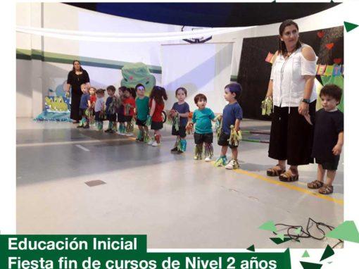 Educación Inicial: fiesta fin de cursos Nivel 2 años