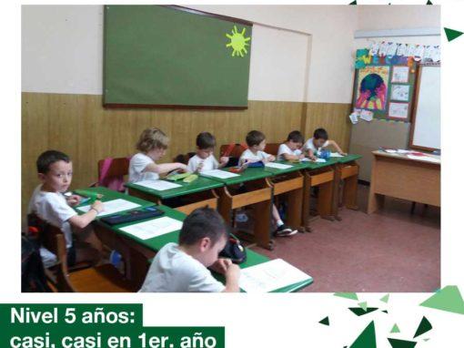 Educación Inicial: Nivel 5 años visitó 1er. año