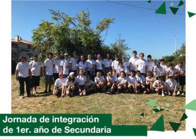 Secundaria: jornada de integración de 1er. año