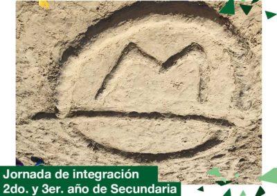 2018: Secundaria: 2do. y 3er. año, jornada de integración