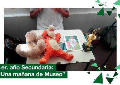 2018: 1ero. de Secundaria. Una mañana de Museo.