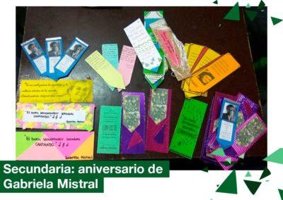 2018: Aniversario de Gabriela Mistral