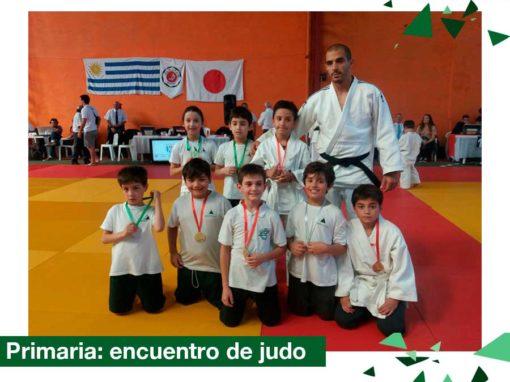 2018 Primaria: Encuentro de Judo