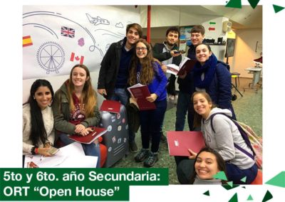 "2018: 5to. y 6to. de bachillerato: ORT ""Open House"""