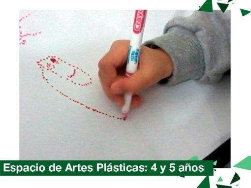 2018: Espacio de Artes Plásticas, Nivel 4 y 5 años