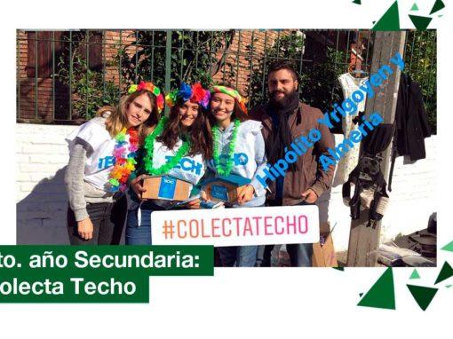 2018: 6to. año de Secundaria participó en la Colecta Techo
