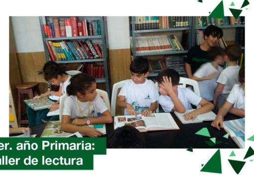 2018: 3ro. de Primaria comenzó un Proyecto de Lectura