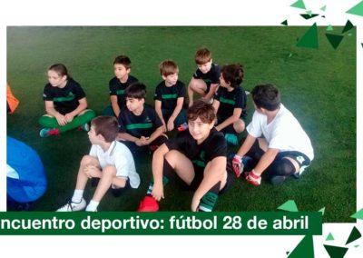 2018: triangular de fútbol