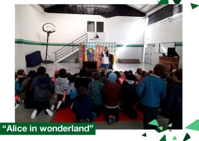 2018: Educación Inicial, 1er. y 2do. año, «Alice in the wonderland»