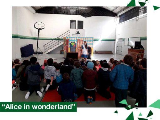 """2018: Educación Inicial, 1er. y 2do. año, """"Alice in the wonderland"""""""