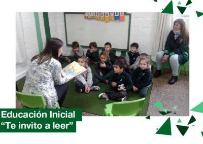 """2018: Educación Inicial: """"Te invito a leer"""""""