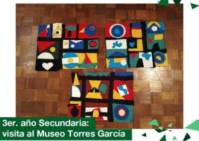2018: 3er. año Secundaria visitó el Museo Torres García