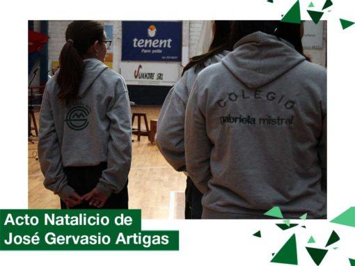 2018: Acto Natalicio de José Gervasio Artigas