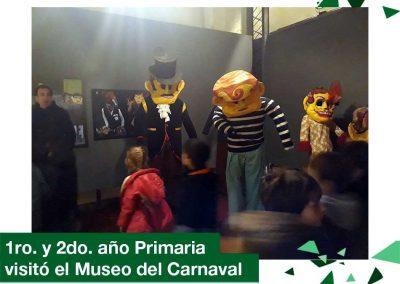 2018: 1ero. y 2do. Primaria visitó el Museo del Carnaval
