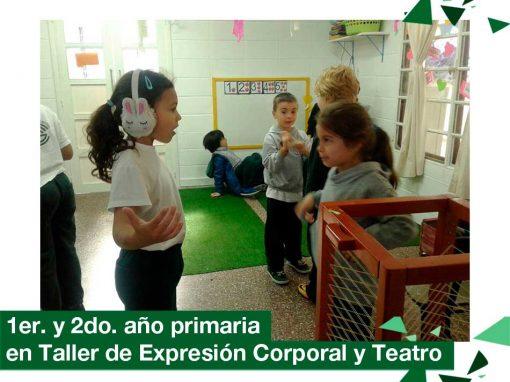 2018: 1er. y 2do. año en Taller de Expresión Corporal y Teatro