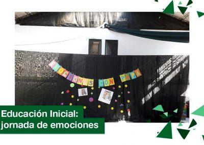 2018: jornada de emociones en Educación Inicial