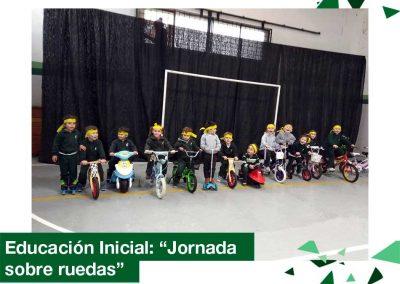 """2018: Educación Inicial """"Jornada sobre ruedas"""""""