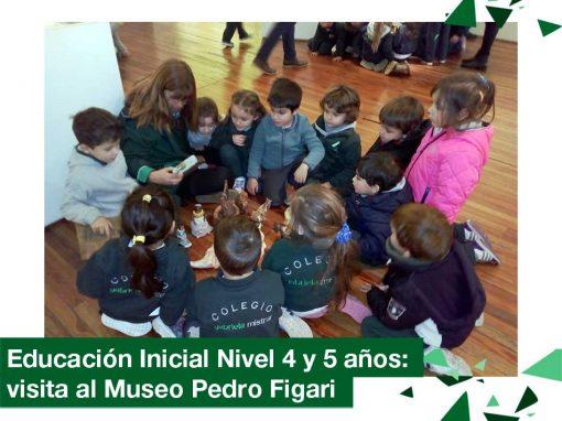 2018: Educación Inicial Nivel 4 y 5 años visitó el Museo Pedro Figari