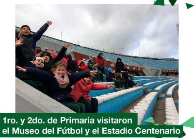 2018: 1ro. y 2do. Primaria visita al Museo del Fútbol