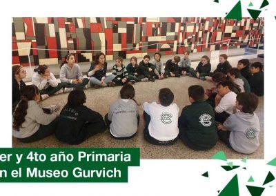 3er y 4to año Primaria en el Museo Gurvich