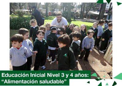2018: Educación Inicial Nivel 3 y 4 años visitó la feria vecinal.
