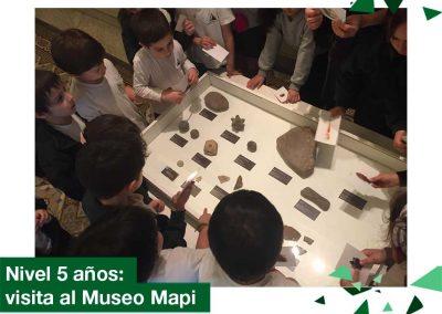 2018: Educación Inicial Nivel 5 años visitó el Museo MAPI