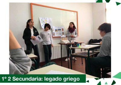 2018: 1ro 2 Secundaria, legado griego