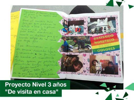 """2018: Proyecto Nivel 3 años """"De visita en casa"""""""