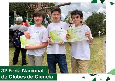 2018: 32 Feria Nacional de Clubes de Ciencia