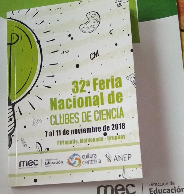 32 Feria Nacional de Clubes de Ciencia