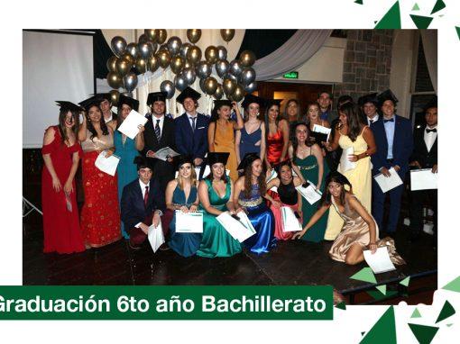 2018: Graduación Bachillerato