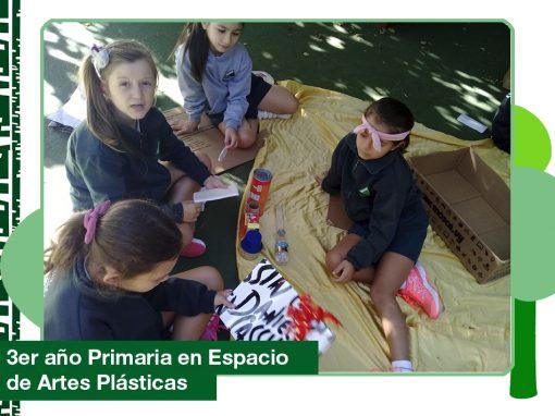 2019 Espacio de Artes Plásticas: 3er año Primaria