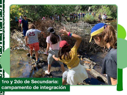 2019: 1ro y 2do de Secundaria tuvieron su campamento de integración en Santa Lucía del Este.