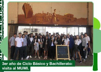 2019: 3er año Ciclo Básico y Bachillerato visitaron el MUMI.