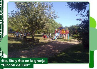 2019: 4to, 5to y 6to de Primaria en la granja «Riincón del Sol»