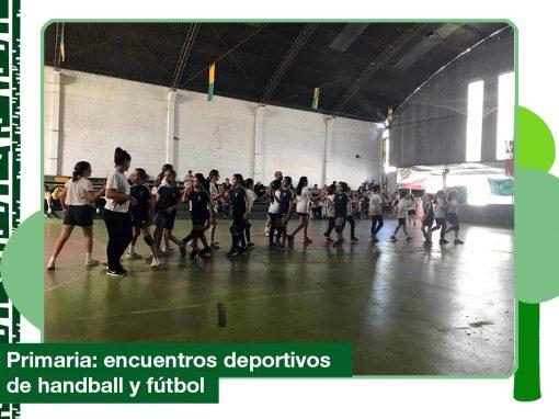 2019: actividad deportiva del 30 de marzo de Primaria