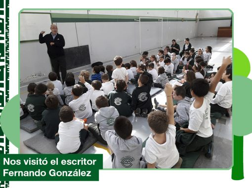 2019: Visita del autor Fernando González