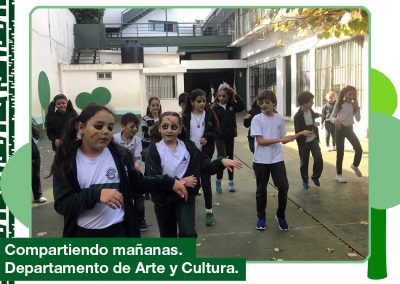 2019. «Compartiendo mañanas». 4to año Primaria en Expresión Corporal y Danza