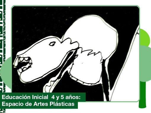 2019: Educación Inicial 4 y 5 años en Espacio de Artes Plásticas.