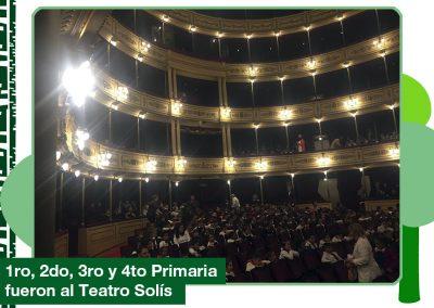 2019: 1ro, 2do, 3ro y 4to de Primaria en el Teatro Solís