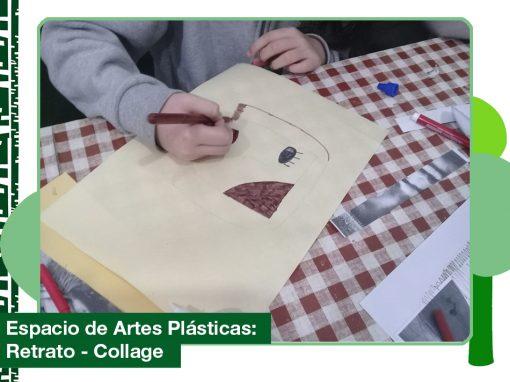 2019: Retrato-collage en el Espacio de Artes Plásticas