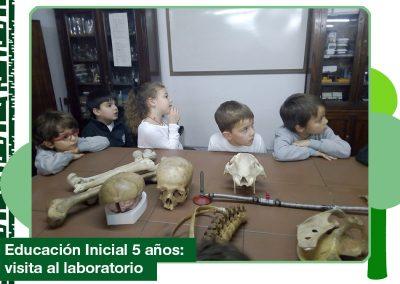 2019: Educación Inicial Nivel 5 años visitó el laboratorio