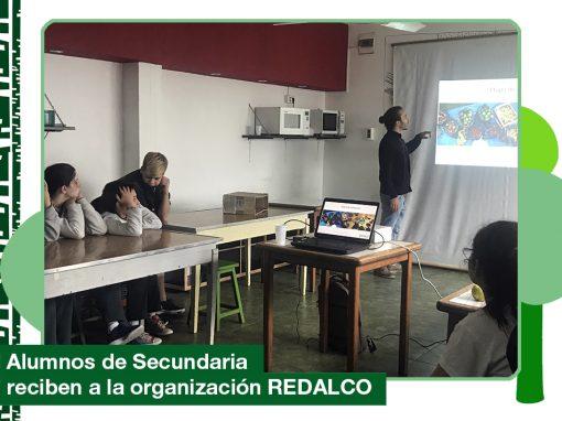 2019: alumnos de Secundaria recibieron a la organización REDALCO