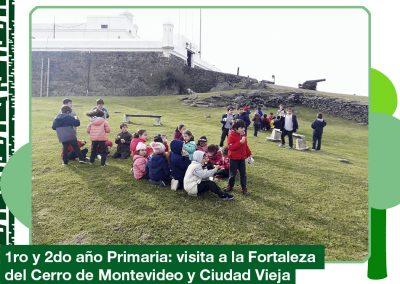 2019: 1er y 2do año visitaron la Fortaleza y Ciudad Vieja