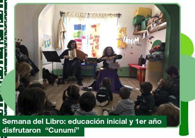 2019: Educación Inicial «Semana del Libro». Nos visita Karina Hermida.