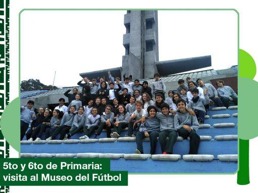 2019: 5to y 6to año de Primaria visitaron el Museo del fútbol.