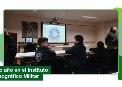 4to año de Primaria visitó el Instituto Geográfico Militar.